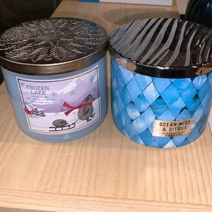 Bath and body works 3-wick candles